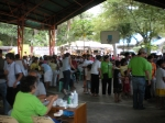 Tabinay, a barrio of Puerto Galera. The gym was already full and registration is ongoing when we arrived,the doctors wer